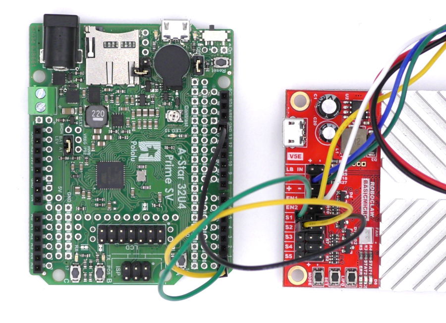 RoboClaw Packet Serial with the Pololu A-Star 32U4 - Resources
